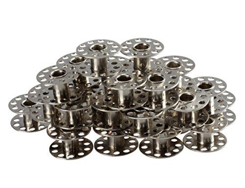 Nähmaschinenspulen aus Metall
