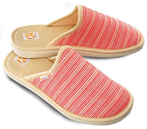 Bosaco Ladies Slippers Jewels Coral 2