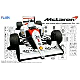 1/20 Grand Prix series SPOT No.34 McLaren MP4 / 6 1991 Spain GP (japan import)