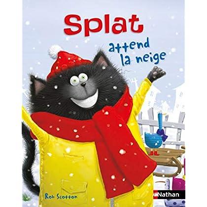 Splat attend la neige - Album Dès 4 ans