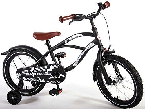 Bicicleta infantil 16pulgadas Joven con ruedines...
