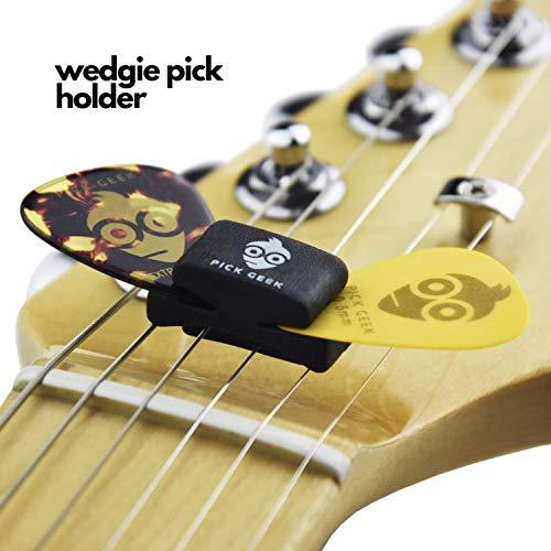 Soporte para guitarra y bajo LK GS005 patas tripode con soporte de seguridad