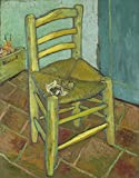 The Museum Outlet–VINCENT Van Gogh–Sedia di Van Gogh, Stretched canvas Gallery Wrapped. 40,6x 50,8cm