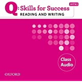 Q: Skills for Success Intro Reading & Writing Class Audio