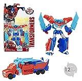 Transformers Robots in Disguise Warrior Class Power Surge Optimus Prime Figure