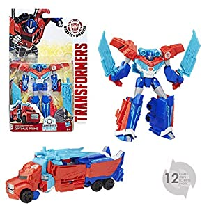 Transformers Robots in Disguise Warrior Class Power Surge Optimus Prime Figura