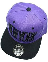 Neues Modell New York Snapback Cap (lila-schwarz)