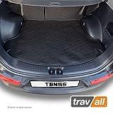 Travall® Liner Kofferraumwanne TBM1115 - Maßgeschneiderte Gepäckraumeinlage mit Anti-Rutsch-Beschichtung