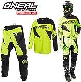 Tuta Motocross Oneal Matrix 2019 Adulti Tuta Moto Sport MX Jersey e Pantaloni Combinazione, off Road...