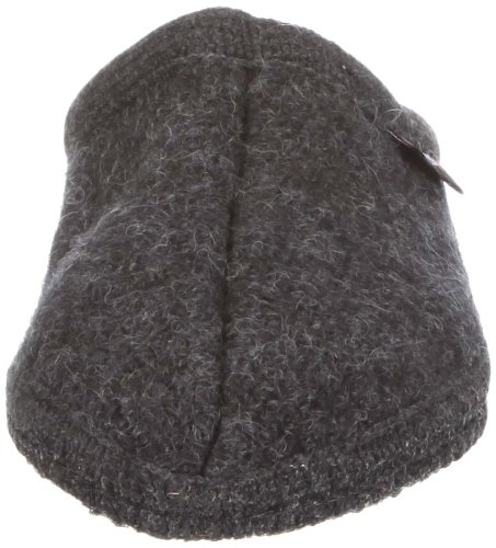 Haflinger Alaska 611001, Unisex - Erwachsene Klassiche Hausschuhe Grau (Graphit 77)