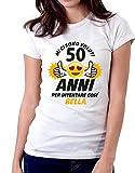 Tshirt compleanno Mi ci sono voluti 50 anni - Best Reviews Guide