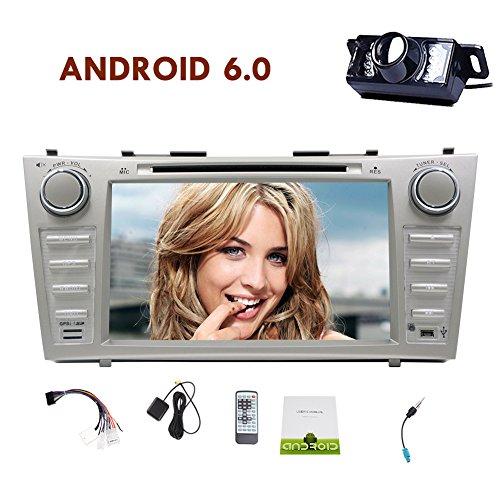 Android 6.0 Eibisch Quad-Core-CPU AUTO-DVD-Player Special für Toyota Camry (2007-2012) Mit 8''Multi-Touch Screen GPS-Navigationssystem Autoradio Unterstützung Dual Cam-in externem Mikrofon WIFI / 3G / 4G FM / AM RDS Radio Receiver
