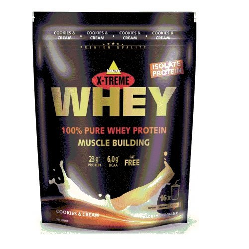 Inko X-Treme Whey Protein 2 x 500g Beutel 2er Pack Cookies and Cream -