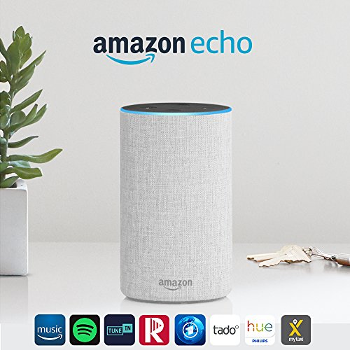 Das neue Amazon Echo (2. Generation), Sandstein Stoff - 2