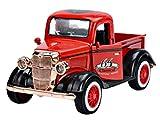 Montre à jouet pour enfants Toy 1:36 Modèle de voiture modèle en alliage, mignon rouge