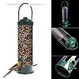 Sundatebe Aufhängen Wild Bird Feeder Samen Container Kleiderbügel Garten Outdoor Füttern Werkzeug