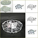 [Sponsored]GS New Look Crystal Finish Wealth Sign Tortoise With Plate Statue Showpiece Vastu Decorative Turtle Figurine Home Interior Decor Item Feng Shui Table Decoration Idol Best For Fulfill Your Wishes And Brings Prosperity & Happiness In Your Lif
