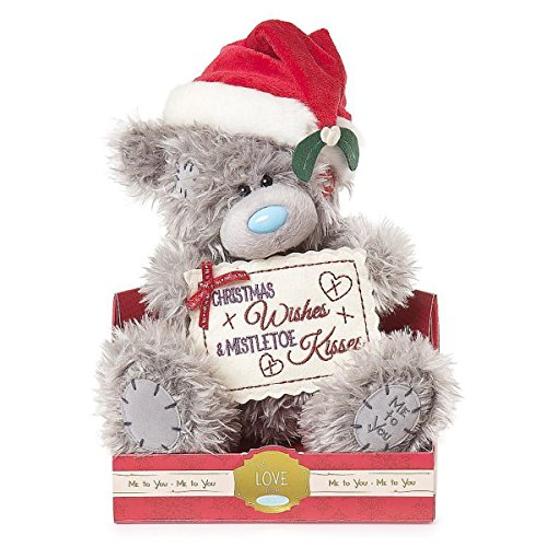 Glamour Girlz Me To You Tatty Teddy Bear Medium Plush Toy Christmas Teddy Christmas Wishes & Mistletoe
