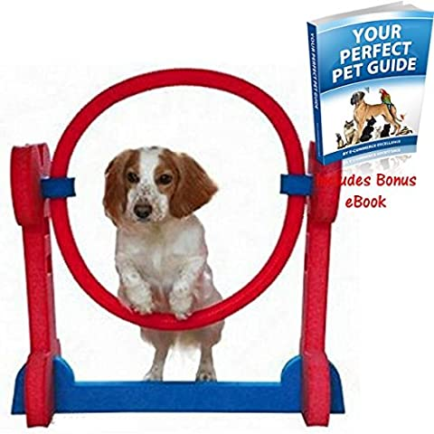 Agility Hoop With 3 Different Heights made from soft but