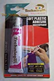 CLEAR ADHESIVE GLUE FOR SOFT PVC SYNTHETIC MATERIALS UPHOLSTERY HIGH QUALITY new by Technicqll