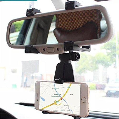 Universal Auto Rückansicht Spiegel Montieren LKW Auto Halterung Halter Wiege Zum Telefon X 8 7 6s 6 Plus S9 S8