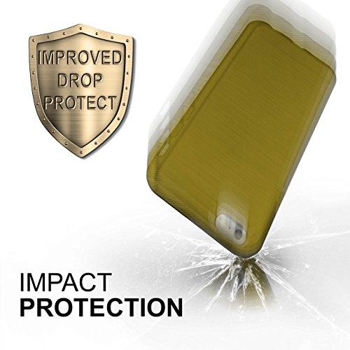 iPhone 6S Hülle Silikon Rose [OneFlow Brushed Back-Cover] TPU Schutzhülle Ultra-Slim Handyhülle für iPhone 6/6S Case Dünn Silikonhülle Rückseite Tasche LIME-GREEN