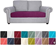 Tidyard Sofa Seat Slipcovers Couch Cushion Covers 1 Seater Stretch Spandex Non Skid Jacquard Fabric Furniture