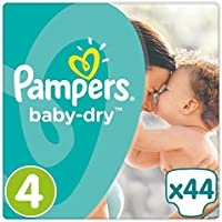 Pampers Baby Dry Taille 4 Essential Lot de 44 couches