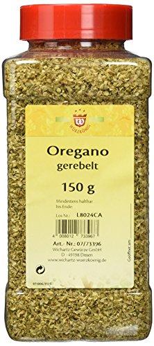 Wichartz Würzkönig Oregano gerebelt, 3er Pack (3 x 150 g)