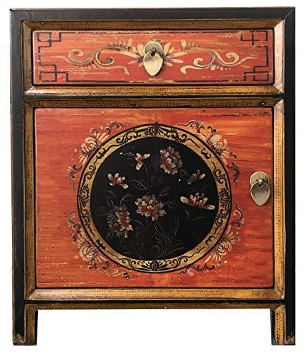 opium outlet - Mesita de Noche Estilo Colonial, Estilo Vintage, Estilo Shabby Chic