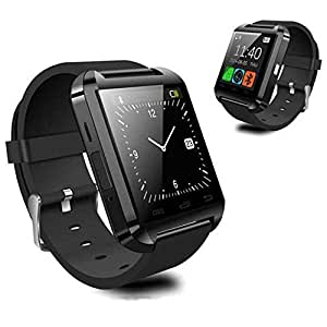 Smart Watch, Willful Bluetooth Smartwatch Android Wear OLED Orologio Fitness Tracker Watch Universale per Android Samsung Sony LG Huawei Smartphones Pedometro per Outdoor Running Sport Uomo Donna Nero
