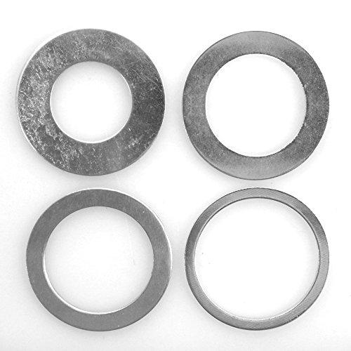 4 Stück Reduzierring von 30 mm auf 25,4/22,2/20 / 16 mm Ersatzring