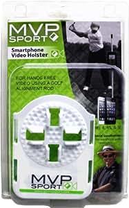 MVP Smartphone Holster - Halterung für Apple iPhone für Alignment Rods (Weiss)