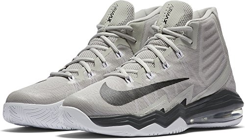 Nike 843884-004, Scarpe da Basket Uomo Grigio
