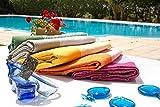 Fouta Abeille Hamam-Tuch Sauna-Tuch Pestemal Peshtemal XXL Extra Groß 197 x 100cm – 100% Baumwolle aus Tunesien als Strand-Tuch, für Bad, Picnic, Yoga, Schal (Orientalisches Türkisches Bade-Tuch) … (Rosa) - 4