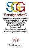 SGG / SGB X Sozialgerichtsgesetz Sozialverwaltungsverfahren und Sozialdatenschutz (dtv Beck Texte)