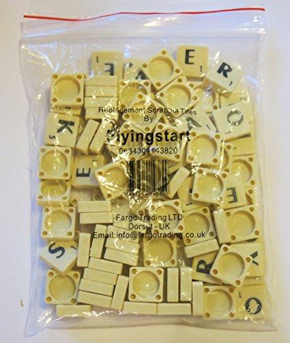 black-letters-on-ivory-plastic-tiles