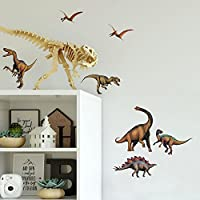 RoomMates Repositionable Childrens Wall Stickers - Dinosaurs