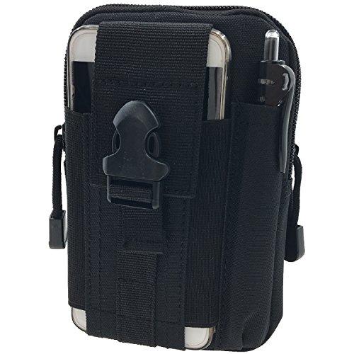 Taktische Tasche Gürteltasche Nylon Militär Molle - Tyidalin Outdoor Tactical Holster Handytasche EDC Camo Tasche Werkzeugtasche Groß mit Gürtel Schlaufe Multifunktions für Camping Reise Wandern