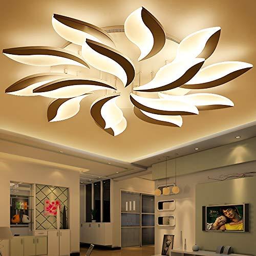 ZSAIMD Neue Moderne Blume Kronleuchter/Dimmbare Led-leuchten für Wohnzimmer/Esszimmer Küche Schlafzimmer Home Fixture Mit 4 Licht Wohnzimmer Veranda Flur Dekoration - 4 Licht Kronleuchter Flur