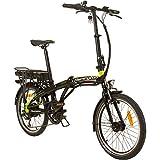 Remington Urban Folder 20 Zoll Faltrad E-Bike Klapprad Pedelec StVZO, Farbe:Grün