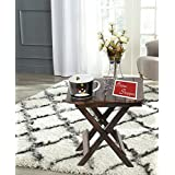 Onlineshoppee Folding Table (Brown)