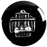 Tedora Shiny Dark Button/Druckknopf