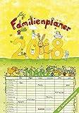 Familienplaner 2018 - Familientermine / Familientimer (24 x 34) - mit Ferienterminen - 6 Spalten - Wandplaner: by Silke Leskin