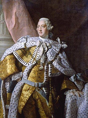 Artland Leinwand auf Keilrahmen oder gerolltes Poster mit Motiv Allan Ramsay König George III, um 1761 Menschen historische Persönlichkeiten Malerei Gold C7FU