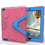 Feite Heavy Duty Rugged Hybrid Shockproof Armor Case Cover Stand For iPad 2/3/4