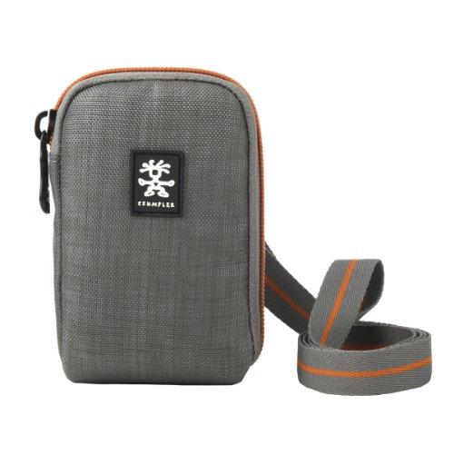 Crumpler JP90-002 Jackpack 90 - Kompakt Kamera Tasche - Dk. Mouse Grey / Burned Orange Dk Taschen