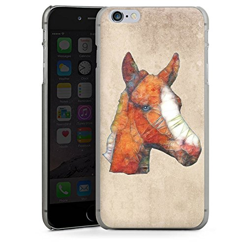Apple iPhone X Silikon Hülle Case Schutzhülle Pferd Fohlen Ponny Hard Case anthrazit-klar