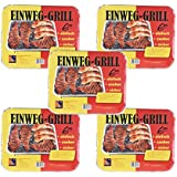 Monouso Grill CAMPEGGIO barbecue BBQ Picnic escursionismo grigliare in 5o 10Gebinde