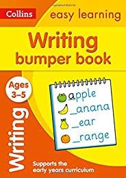 Writing Bumper Book Ages 3-5: Prepare for Preschool with easy home learning (Collins Easy Learning Preschool)